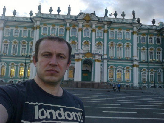 Very serious tourist from Belarus became a world star