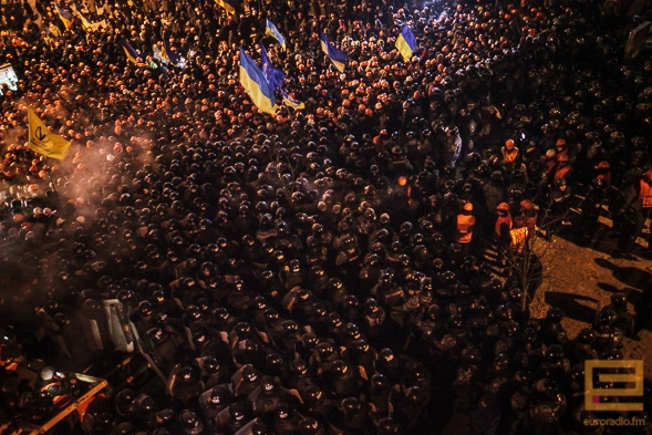 In pictures: storm of Maidan and Kyiv city council