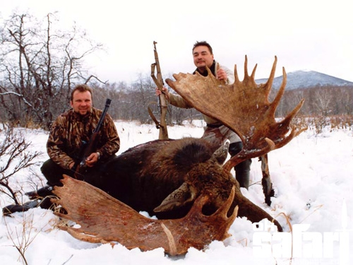 Hunting tourism and corruption in Belarus