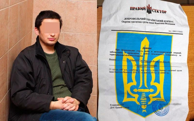 ATO fighter: Detained man real ex-fighter, could be agent or weirdo