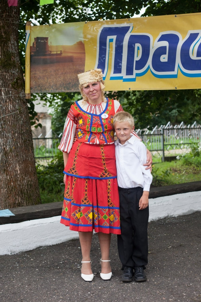 A day at the Miss Dairymaid contest in Belarus - in pictures