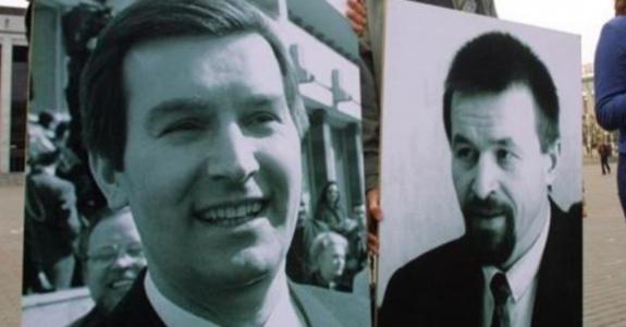 Viktar Hanchar and Anatol Krasouski disappeared 17 years ago