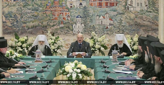 Lukashenka to Orthodox Church leaders: Priests should be Belarus-born