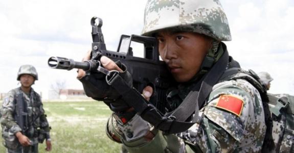 Chinese military men arrive in Belarus