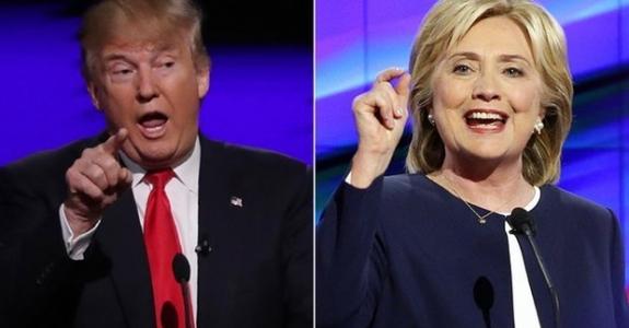 Сегодня первые дебаты Клинтон и Трампа - важные для всей избирательной гонки
