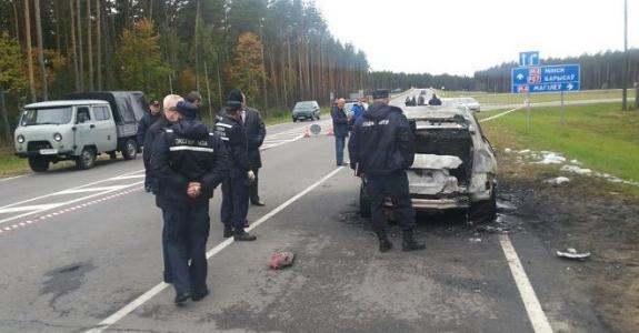 Businessman killed and torched in car near Berazino