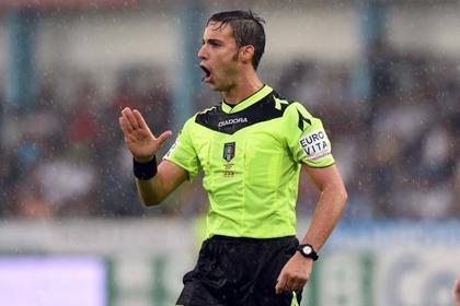 Спортсмен получил зеленую карточку впервый раз вистории футбола