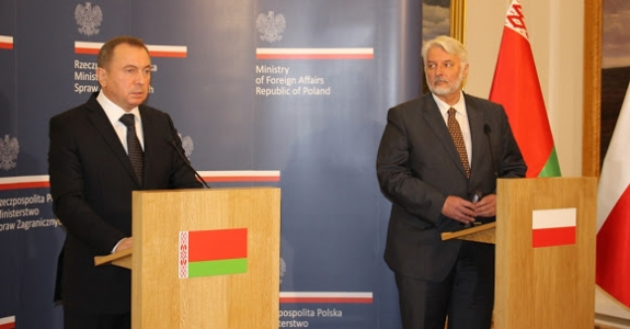 Belarus FM visits Warsaw: 'We want to get rid of heavy dependence on Russia'