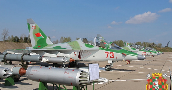 Thwarting plans for a Russian airbase, Minsk strengthens its air force