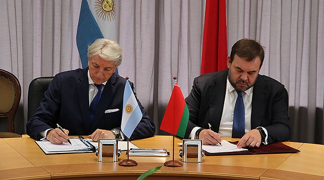 Belarus signs Visa-free travel agreement with Argentina