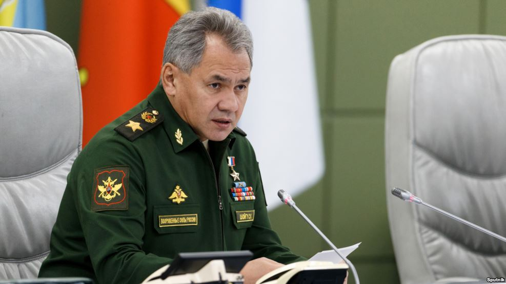 Russia says it's increasing military presence on Western borders