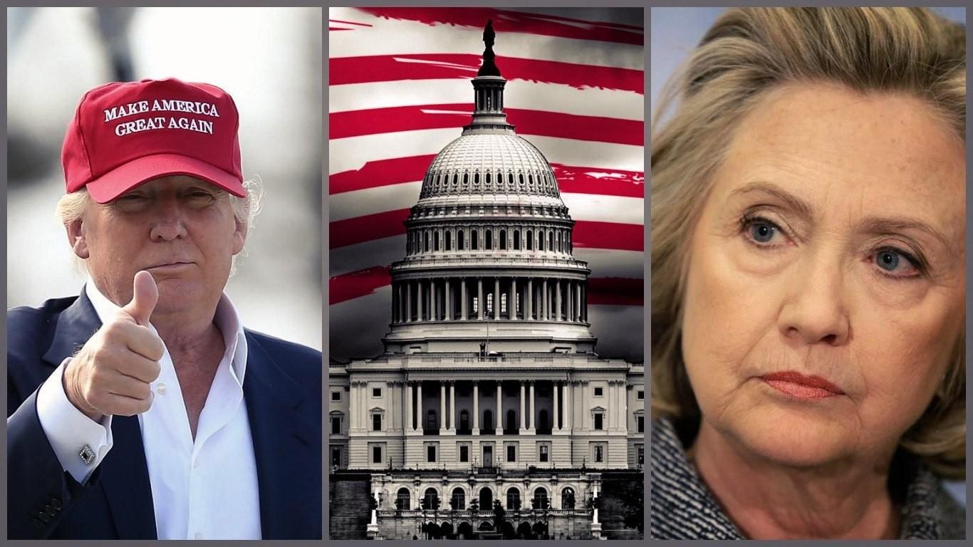 Клинтон признала свое поражение на выборах президента США