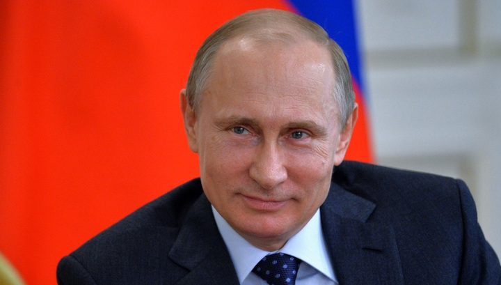 Путин поздравил Трампа спобедой навыборах президента США