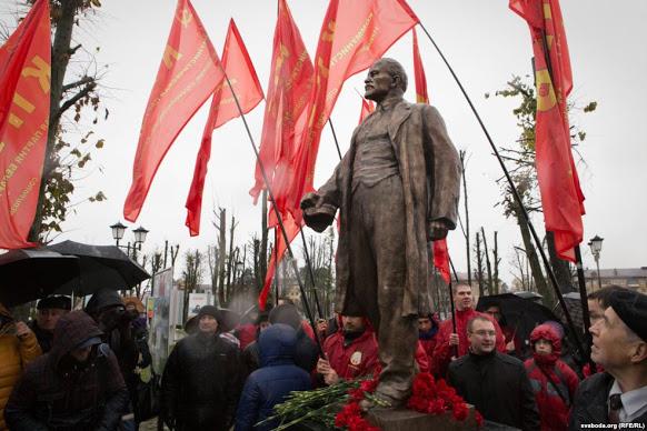 Lenin in a veil: the long path to decommunisation in Belarus