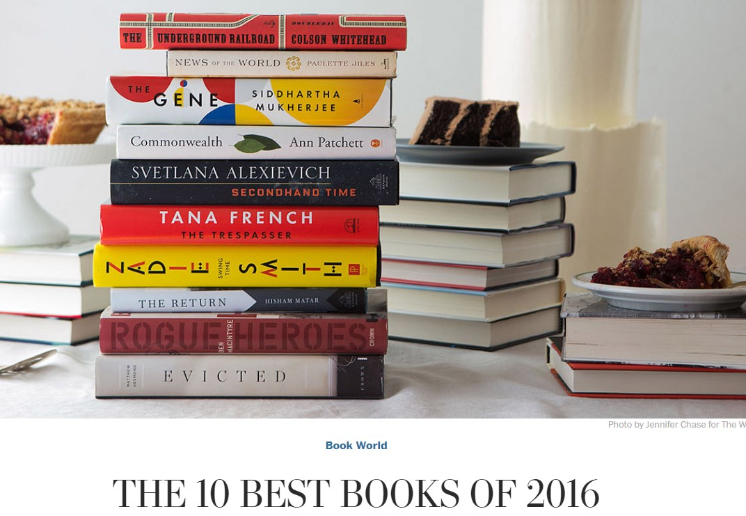 Book by Svetlana Alexievich named among 10 best books of 2016 by WP