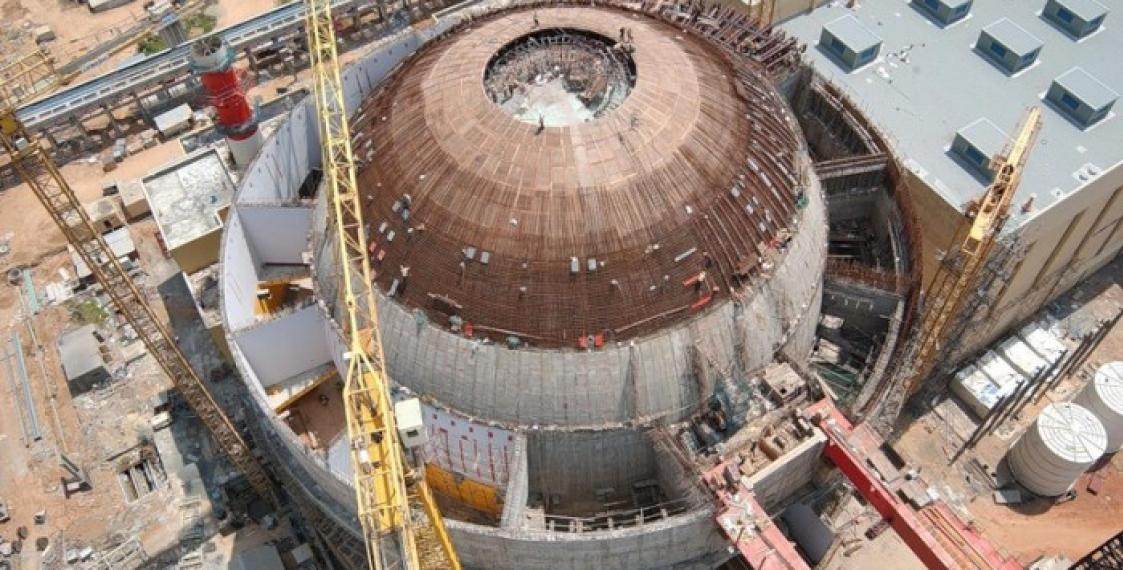 New reactor vessel examined at Belarusian NPP