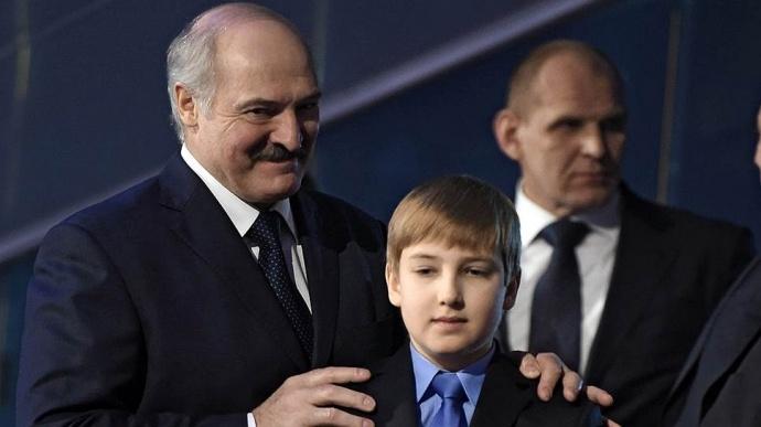 Сына Лукашенко увидели вкостюме льва