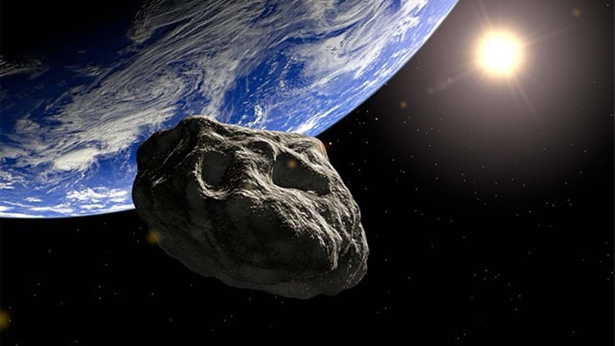 Земля чудом избежала столкновения с огромным метеоритом