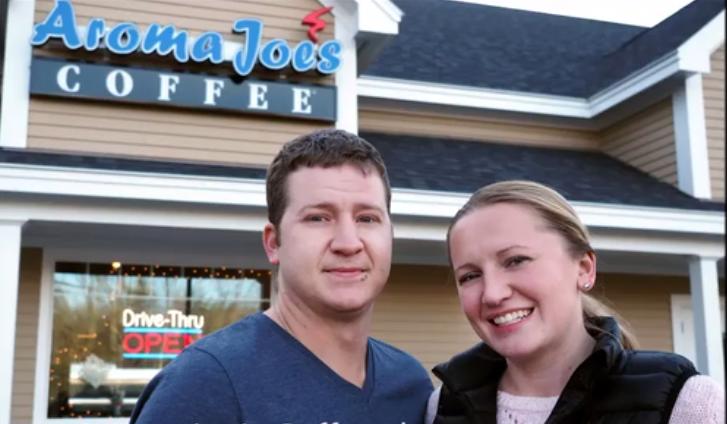 Woman learns English, then opens Aroma Joe's