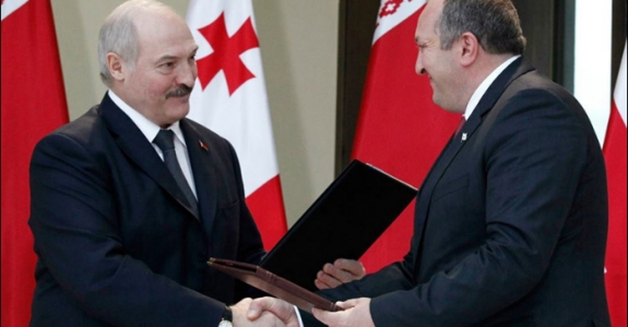 Belarus and Georgia: Russian lessons and Lukashenka's new strategy