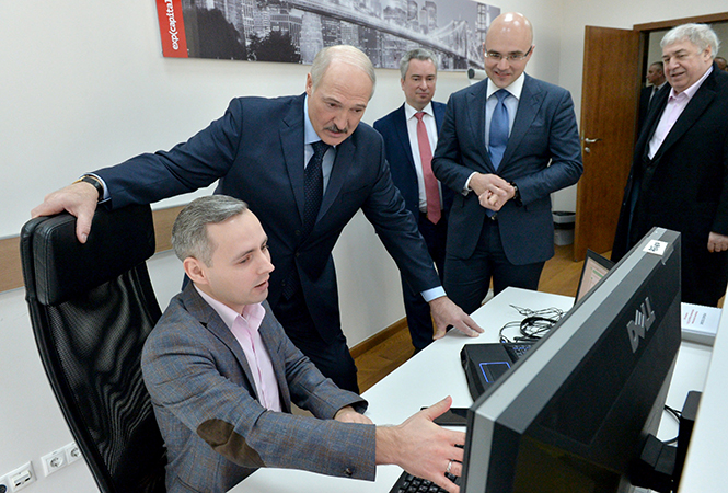 Lukashenko appoints new head of Belarus high-tech park