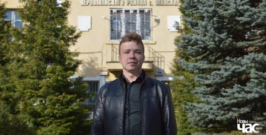 Pratasevich stand trial for Kurapaty, gets acquitted