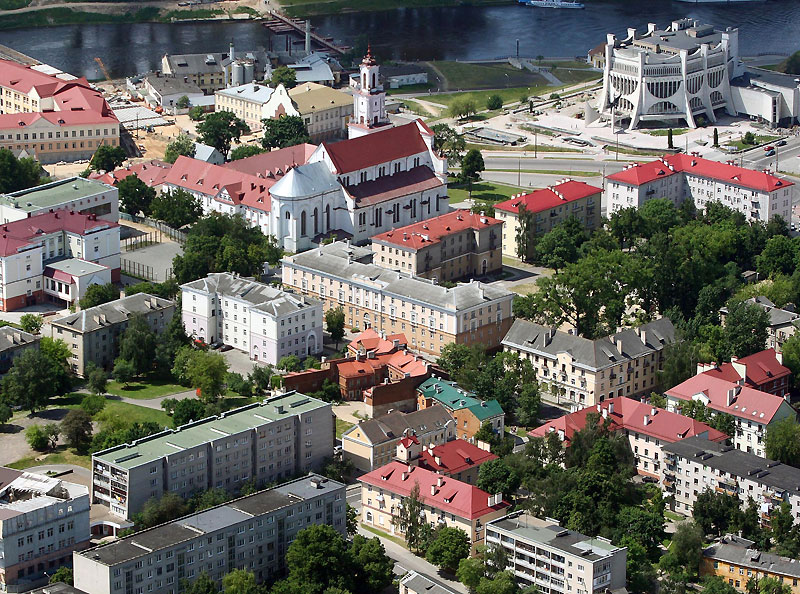 Hrodna is learning to handle more foreign tourists