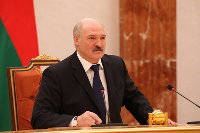 'We have never knelt to anyone': Lukashenka slams Russian media for attacking Belarus
