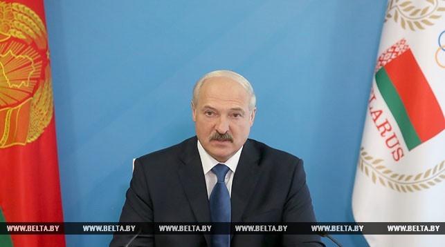 Президентом НОК Белоруссии вновь стал Александр Лукашенко