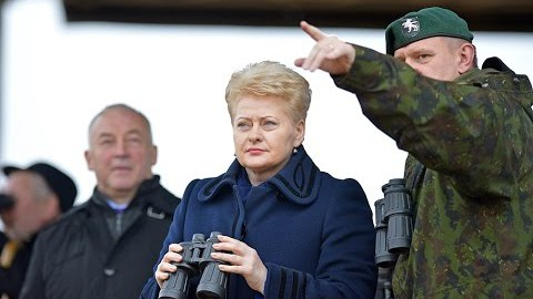 'Neighbours are given by God'. Lithuania's envoy summoned over Grybauskaite's interview