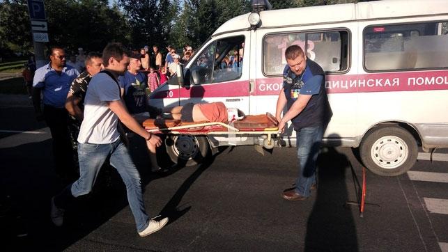 Автомобиль Кия сбил вВитебске 2-х детей напереходе