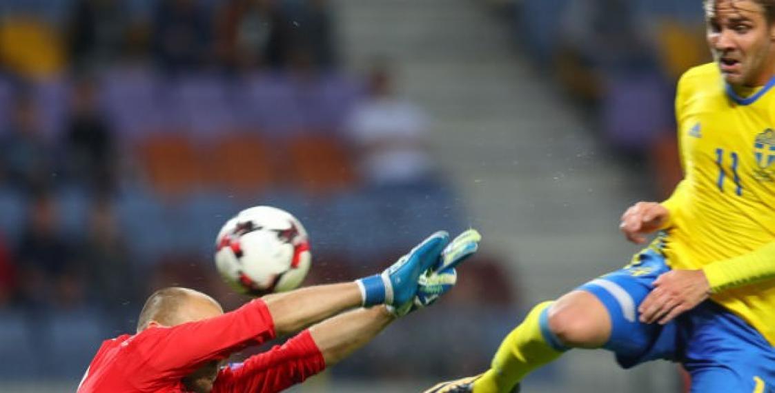 Сборная Швеции разгромила вгостях республику Беларусь  вотборочном матчеЧМ
