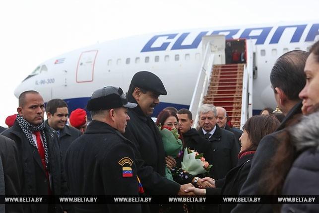 ВМинске проходит встреча Александра Лукашенко иНиколаса Мадуро
