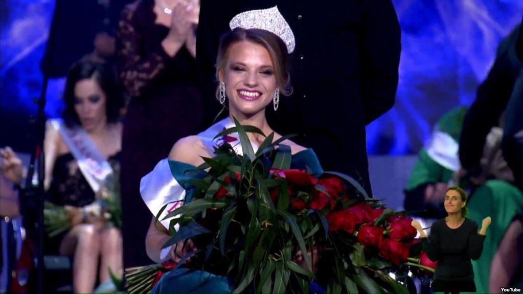 Belarusian Student Wins Miss Wheelchair World Award