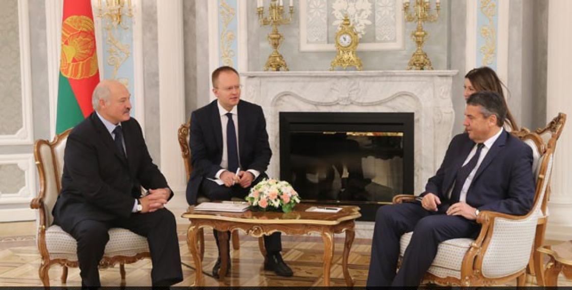 Lukashenka wants to open a new page in relations with Germany