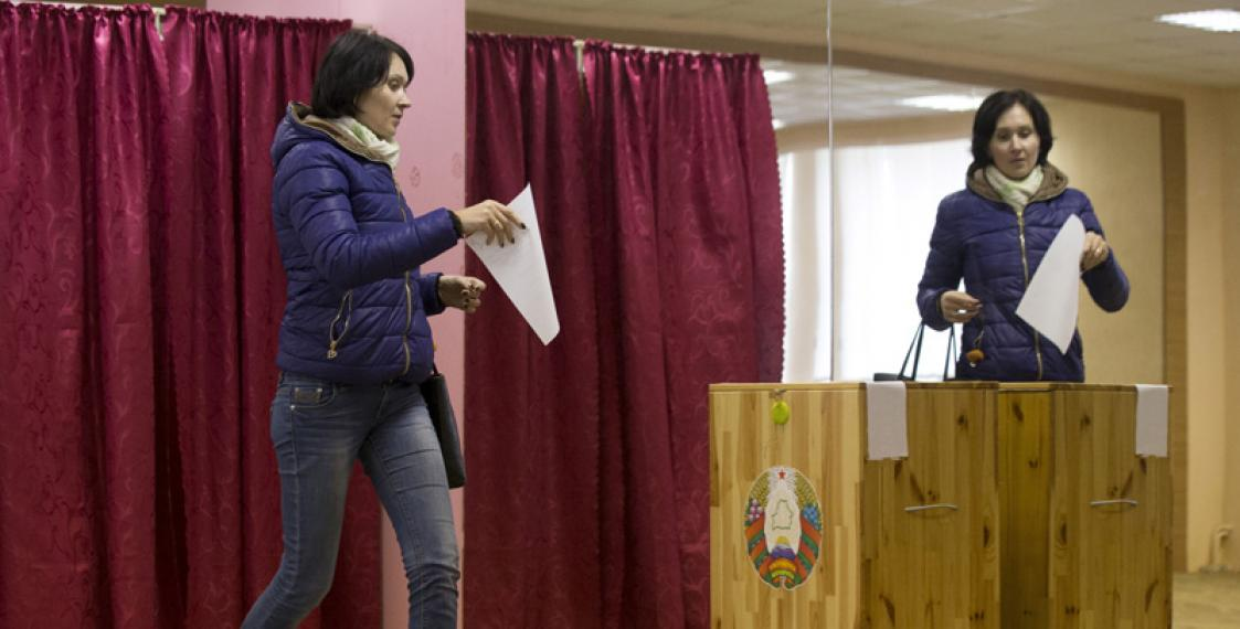 Belarusian election committees: 7 oppositionists and 582 Belaya Rus members