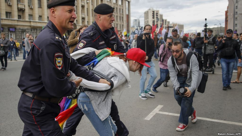'Climate Of Hate' For LGBT Defenders In Former Soviet Republics