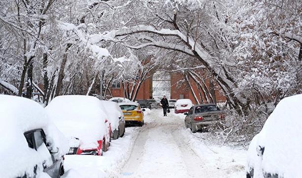 В столице России задерживают самолеты из-за «снегопада века»