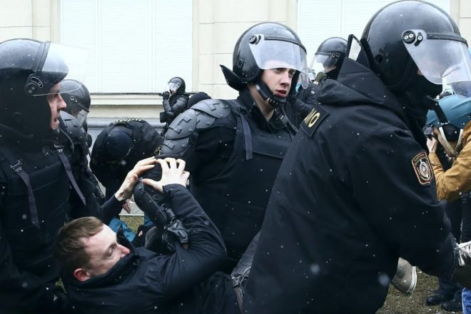 NoFreedom Day? Belarus police detain politicians, activists ahead of rally