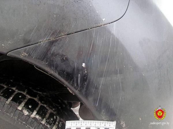 Шок! В Минске пьяный дворник разбил чужое авто, которое мешало вывозу мусора