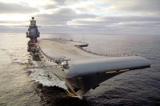 """""""Адмирал Кузнецов"""" признан худшим авианосцем в мировой истории"""