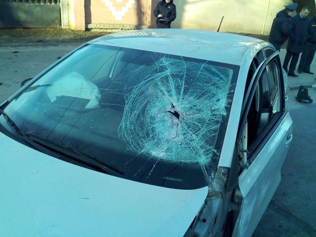 Водитель легковушки разбился насмерть в Витебске