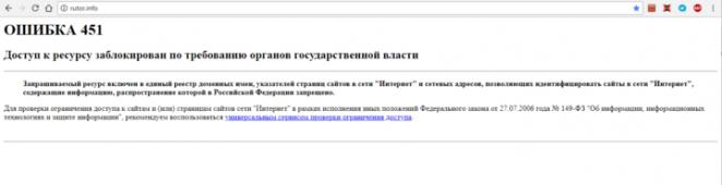 Блокировки Роскомнадзора задели некоторых белорусов