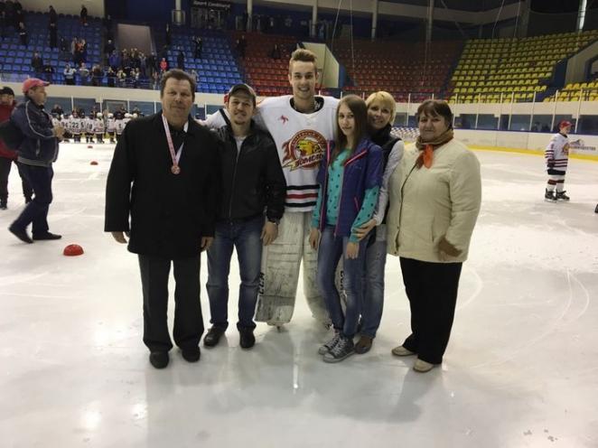 Хоккеист из Гомеля может стать первым белорусским вратарем в НХЛ