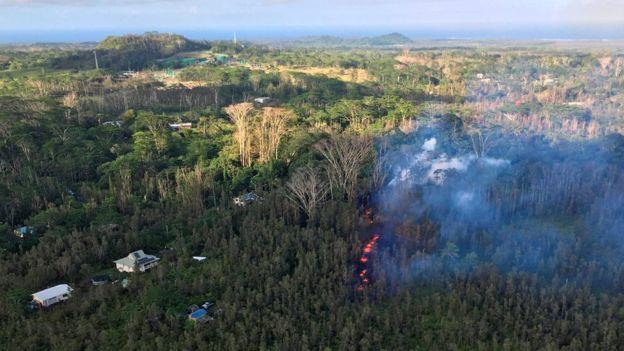 На Гавайях извергается вулкан Килауэа