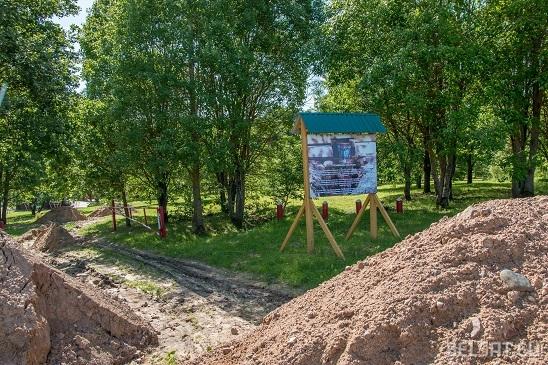 Как выглядит криница, которую благоустроил сам Лукашенко?
