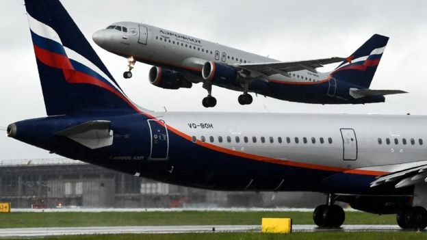 США требуют от российских авиакомпаний отчитываться о полетах