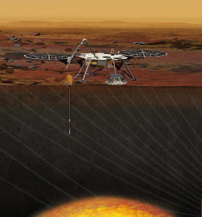NASA отправило новую миссию на Марс