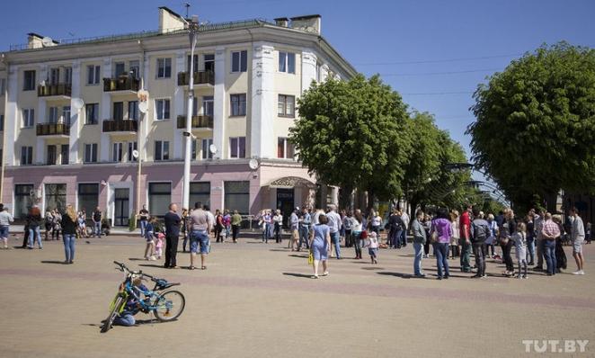 В Бресте после акции противников строительства завода задержали трех человек
