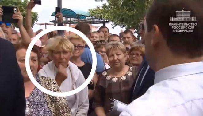 """Крымская пенсионерка, которой Медведев сказал, что """"Денег нет, но вы держитесь"""": """"При Украине легче жилось"""""""